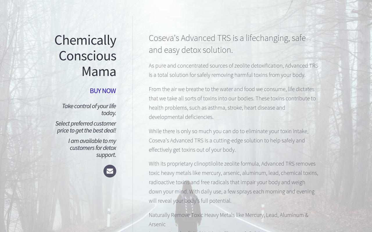 Chemically Conscious Mama